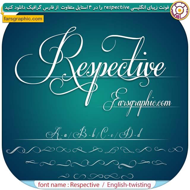 Download font Respective