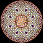 مجموعه وکتور اسلیمی و تذهیب