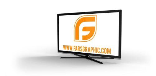 دانلود مجموعه موکاپ لایه باز تلوزیون LCD در طرح های متفاوت