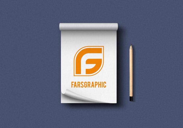 دانلود فایل لایه باز موکاپ دفترچه یادداشت خاص و جذاب