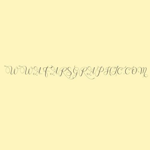 """دانلود فونت زیبا و دستنویس """" Wenny Script """""""