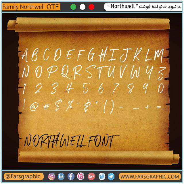 خانواده فونت Northwell