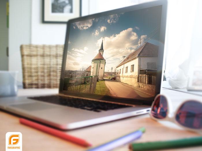 دانلود موکاپ لپ تاپ