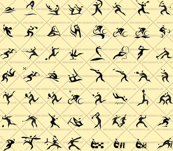 وکتور لوگو های ورزشی