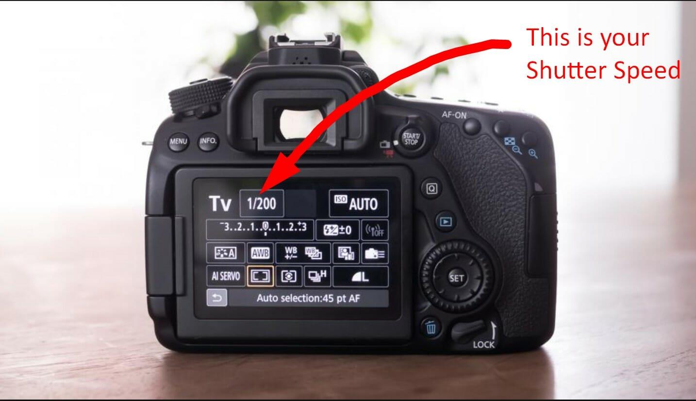 تنظیم سرعت شاتر در دوربین
