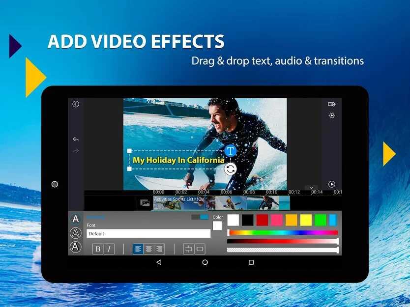 دانلود اپلیکیشن PowerDirector – Video Editor